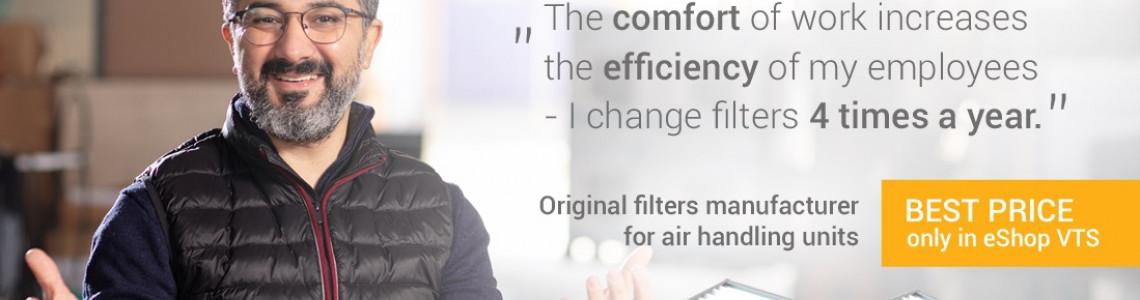 Comfort and efficiency of work
