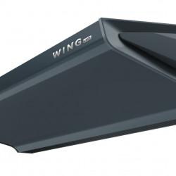 Kurtyna powietrzna WING W100 AC z wodnym wymiennikiem ciepła DARK (RAL7016)
