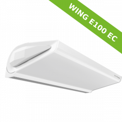 Air Curtain WING E100 EC with electric heaters