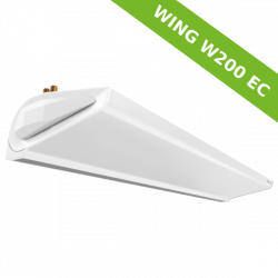 Air Curtain WING W200 EC with water heat exchanger