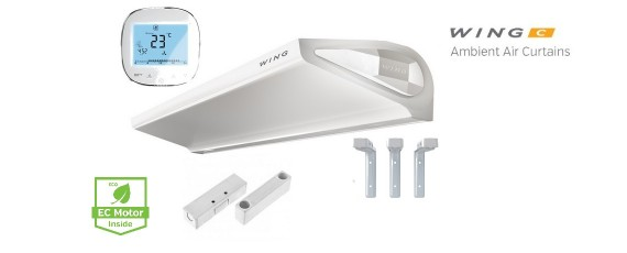 WING Air Curtains are easy to Install!