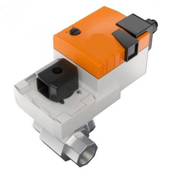 Трехходовой клапан с сервоприводом Kvs=10 (nvs auto)
