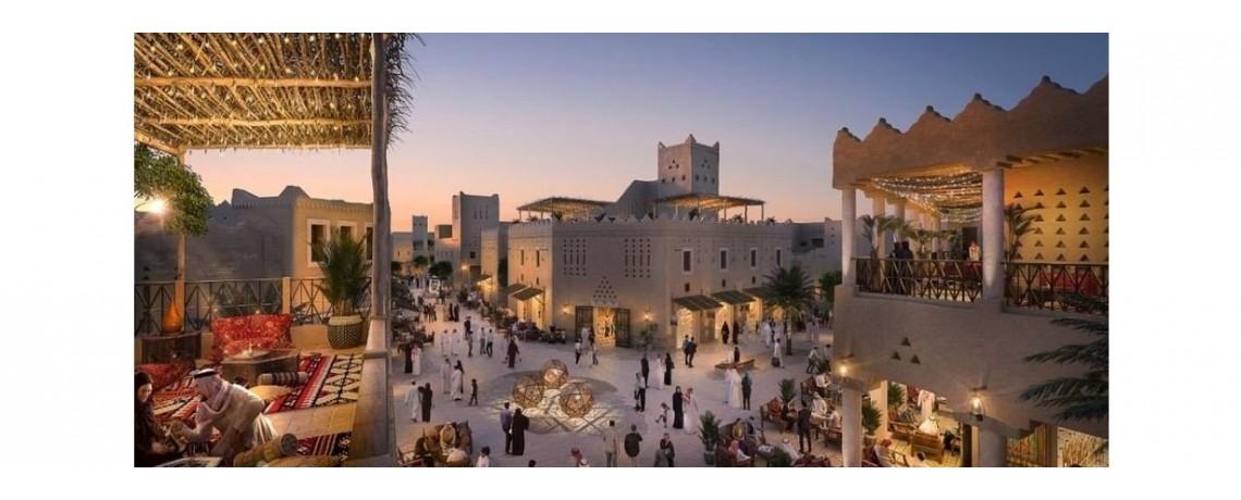 Bujairi Terrace Riyadh – KSA supported with VTS Fan Coil Units