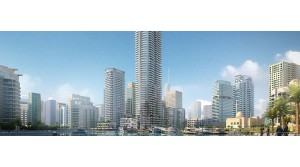 A 53-storey residential building supported with 1122 VTS Fan Coil Units in Dubai.